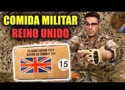 Enlace a Comida militar del Reino Unido