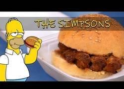 Enlace a Así se cocina la famosa costiburguer de Los Simpson
