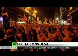 Enlace a Enfrentamientos en Barcelona el día del primer aniversario del 1-O