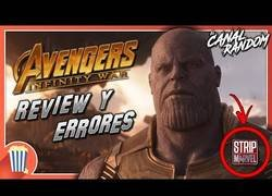 Enlace a Errores de Avengers Infity War