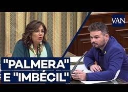 Enlace a Lío en el Senado con Gabriel Rufián llamando