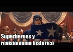 Enlace a Superhéroes y revisionismo histórico