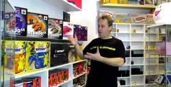Enlace a La mayor colección de videojuegos la tiene este tío en su casa y es una alucine