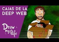 Enlace a La VERDAD sobre las cajas de la DEEP WEB, según Draw My Life