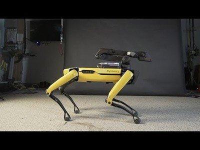 El perro de Boston Dynamics ahora baila