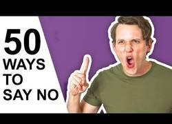Enlace a 50 formas diferentes para decir 'NO'