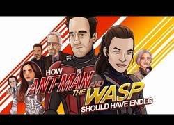 Enlace a Así debería haber terminado 'Ant-Man and the Wasp'