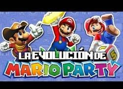 Enlace a La evolución de Mario Party