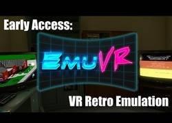 Enlace a Jugando a videojuegos retro dentro de realidad virtual