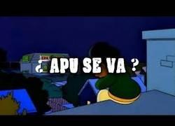 Enlace a ¿Es verdad que Apu se va?