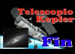 Enlace a NASA fin del telescopio espacial Kepler