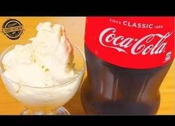 Enlace a Cómo hacer helado de Coca-Cola