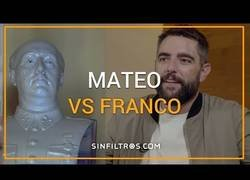 Enlace a Dani Mateo contra Francisco Franco