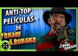 Enlace a Anti-top de las películas de Freddy Krueger