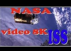 Enlace a NASA filma imagenes en 8K desde la ISS