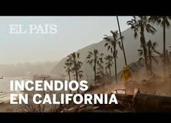 Enlace a Tres incendios asolan al estado de California
