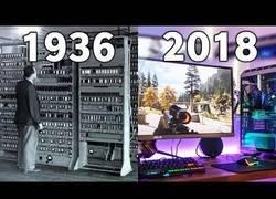 Enlace a Evolución de los ordenadores desde 1936 hasta 2018