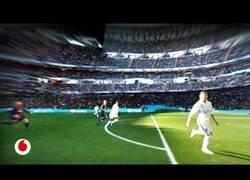 Enlace a Así se ven los partidos desde los ojos de Ronaldo o Messi