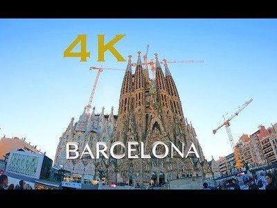 Barcelona en 4k! Hyperlapse
