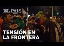 Enlace a Tensión en Tijuana ante la llegada de la caravana migrante
