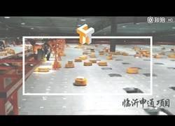 Enlace a Robots de envío en Tianjin: ¿es este el futuro de la paquetería?