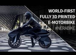 Enlace a La primera moto creada por una impresora 3D al completo