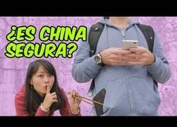 Enlace a China es segura, salimos de dudas
