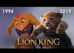 Enlace a Comparación de los dos trailers de El Rey León - 1994 vs 2019
