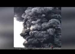 Enlace a Erupción del volcán Ebeko, Rusia