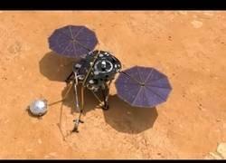 Enlace a Sonda InSight llegó a Marte. Desde 2012 no se hacía una expedición a Marte.