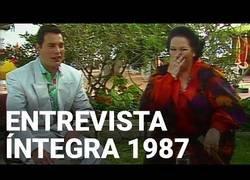 Enlace a Entrevista a Freddie Mercury y Montserrat Caballé en 1987