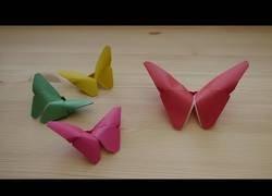 Enlace a Origami. Cómo hacer una mariposa de papel (lección en video)