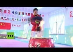 Enlace a Así son los duros entrenamientos de los más pequeños en China