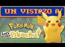 Enlace a Un vistazo a Pokémon Let's Go Eevee/Pikachu