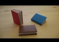 Enlace a Origami Cómo hacer un libro en papel (lección en video)