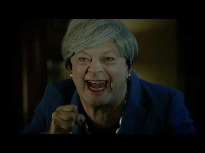 Andy Serkis(actor de Gollum) hace esta buenisima parodia de la presidenta de Reino Unido [Inglés]