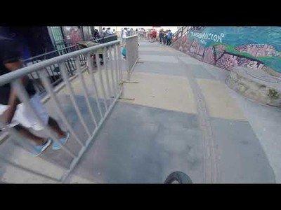 Record mundial de descenso urbano