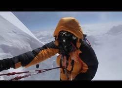 Enlace a Llegada a la cima del Everest