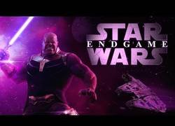 Enlace a Trailer Parodia de Vengadores 4 (con Star Wars)