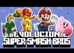 Enlace a La Evolución de Super Smash Bros