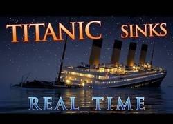 Enlace a Hundimiento del Titanic a tiempo real
