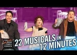 Enlace a 22 musicales en 12 minutos