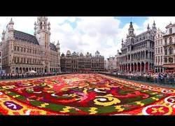 Enlace a La gran plaza central de Bruselas