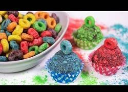 Enlace a Trufas de chocolate y Froot Loops