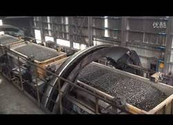 Enlace a Así se vacian los trenes cargados de carbón