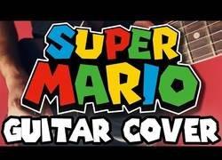 Enlace a ¿Conoces la mítica canción del videojuego Super Mario? ¡Pues así suena en guitarra eléctrica!