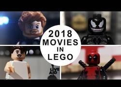 Enlace a Las mejores películas del año 2018 recreadas con LEGO