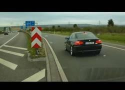 Enlace a BMW hace imposible la conducción en autopista
