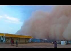 Enlace a Tormenta de arena en Australia
