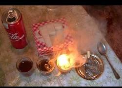 Enlace a Experimento: cocacola, ceniza y azúcar